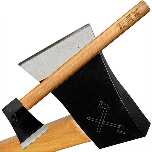 Cold Steel AXE Gang Hatchet Campingaxt Spaltaxt mit Hickoryholz-Stiel