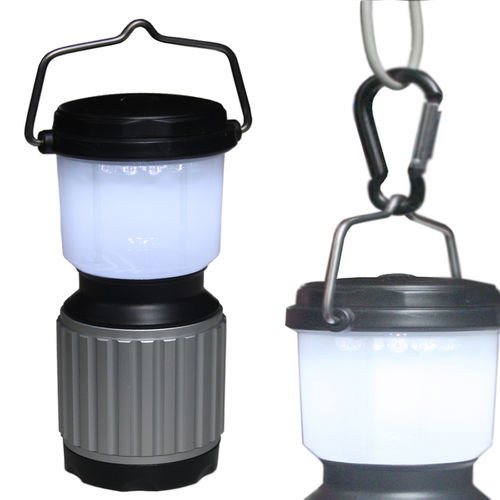 Fox Outdoor Camping-Laterne 17 LED wasserdicht
