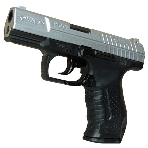 Walther P99 Airsoft Pistole bicolor Federdruck 6 mm < 0,5 Joule