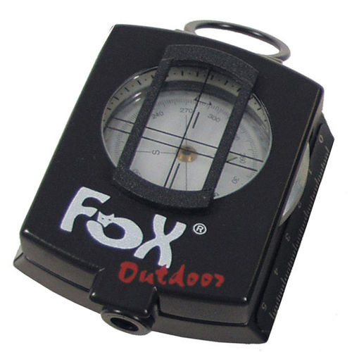 Fox Outdoor Kompass Precision Metallgehäuse mit Etui