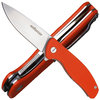 Enforcer Einhandmesser Gambino orange G10 Schalen, Flipper