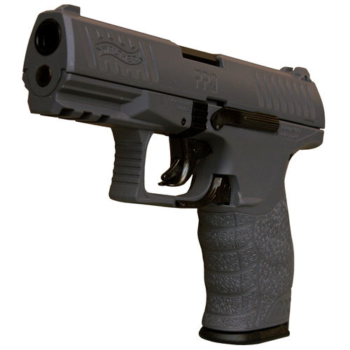 Walther PPQ HME Airsoft Pistole in grau, Federdruck < 0,5 Joule