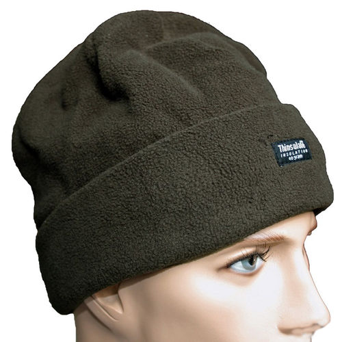 Pro Company Rollmütze Fleece Beanie oliv 3M™ Thinsulate™