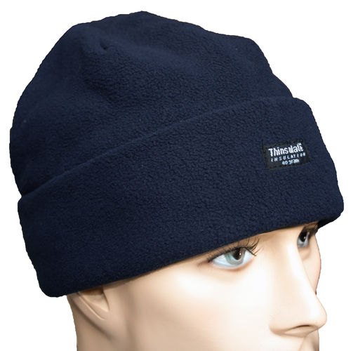 Pro Company Rollmütze Fleece Beanie blau 3M™ Thinsulate™