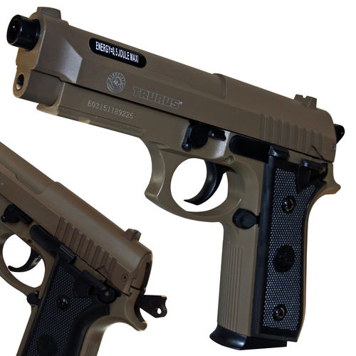 Taurus PT92 Softair Pistole Metalslide Federdruck <0,5 Joule
