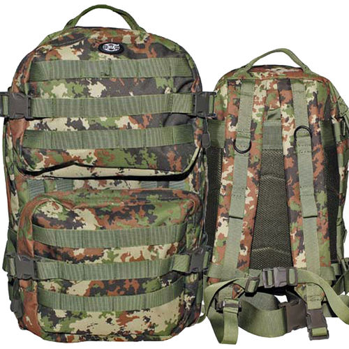 MFH US Rucksack Assault II, Outdoor-Trekkingrucksack vegetato 40 ltr.