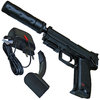 Heckler & Koch USP Tactical Electric Airsoft Pistole 6 mm < 0,5 Joule