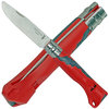 Opinel No 07 Kindermesser, Taschenmesser Outdoor JUNIOR rot
